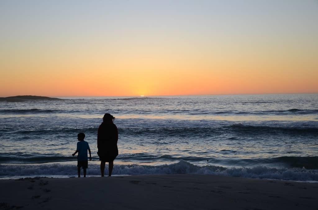 Camps Bay sunset romantic Cape Town