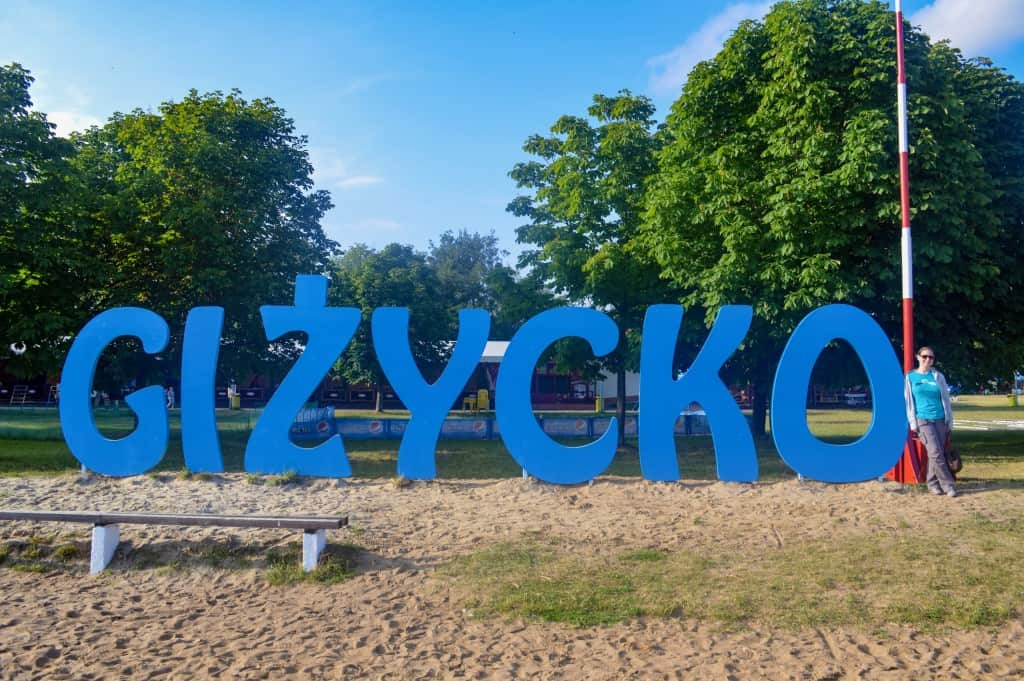 Gizycko hidden gem of Poland