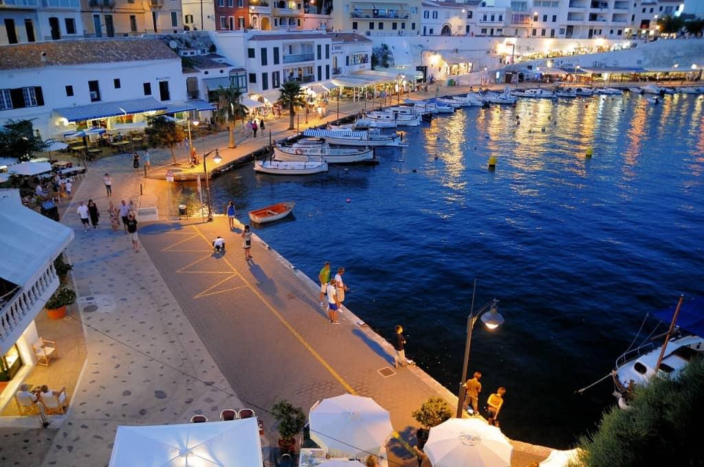 Menorca romantic destination Europe
