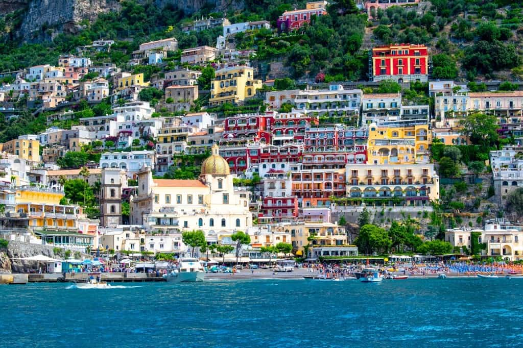Positano romantic place in italy