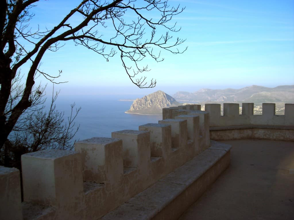 The amazing view from Erice