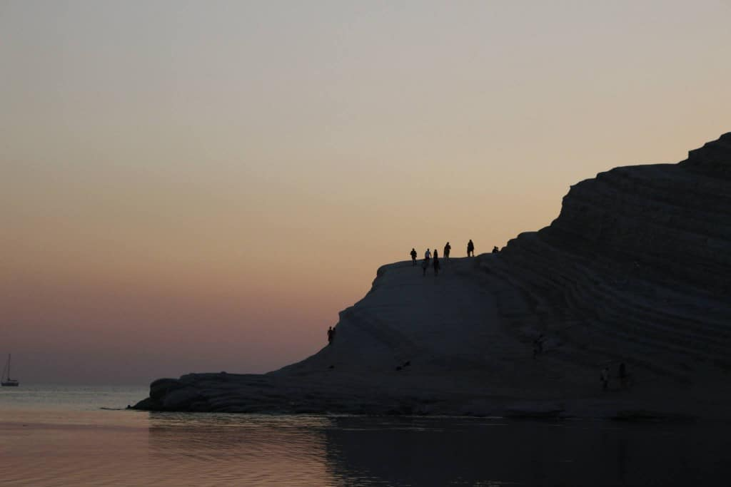 The magic of colors at the Scala dei Turchi