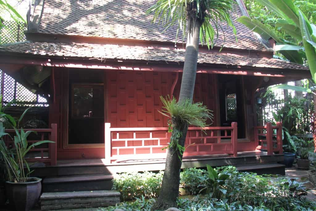 jim Thompson house outside