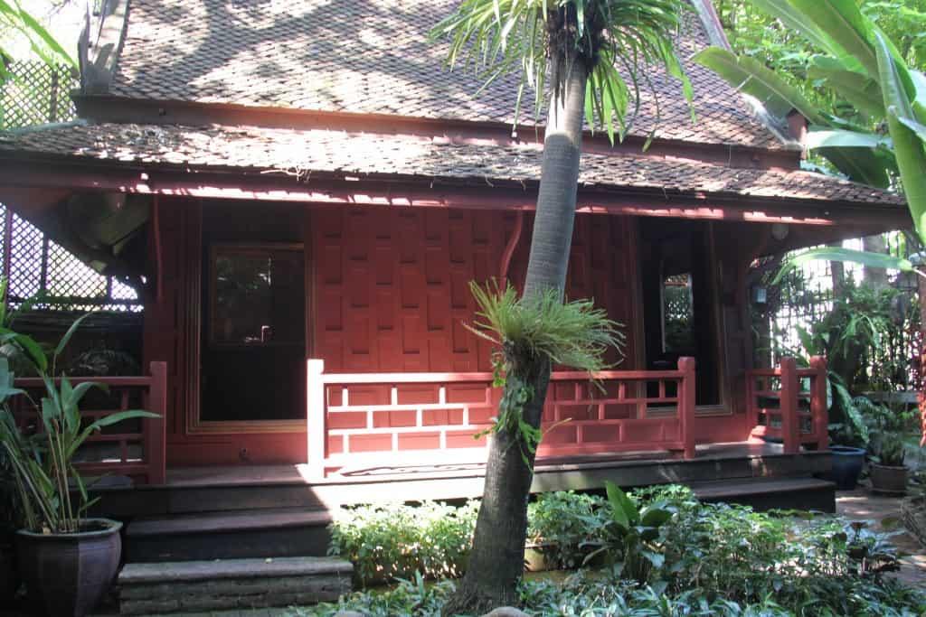 jim Thompson house outside