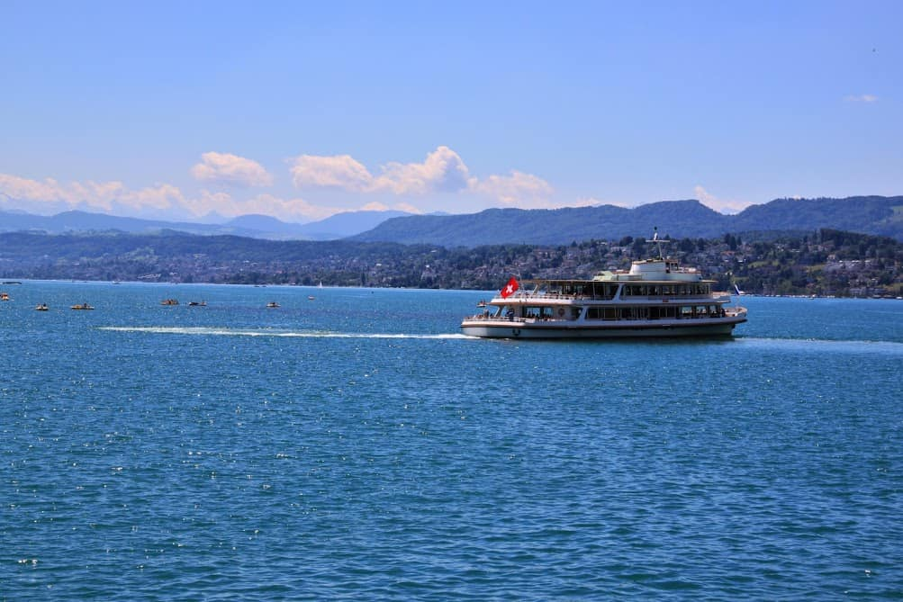 Zurich boat