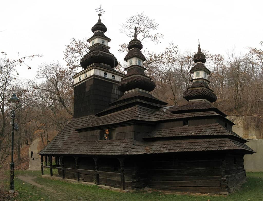 The Carpathian Ruthenian Church of the Saint Michael Archangel