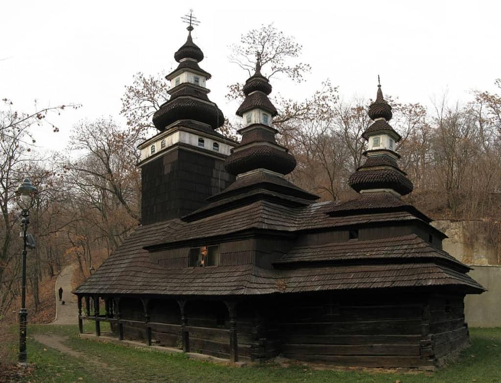 The Carpathian Ruthenian Church of the Saint Michael Archangel