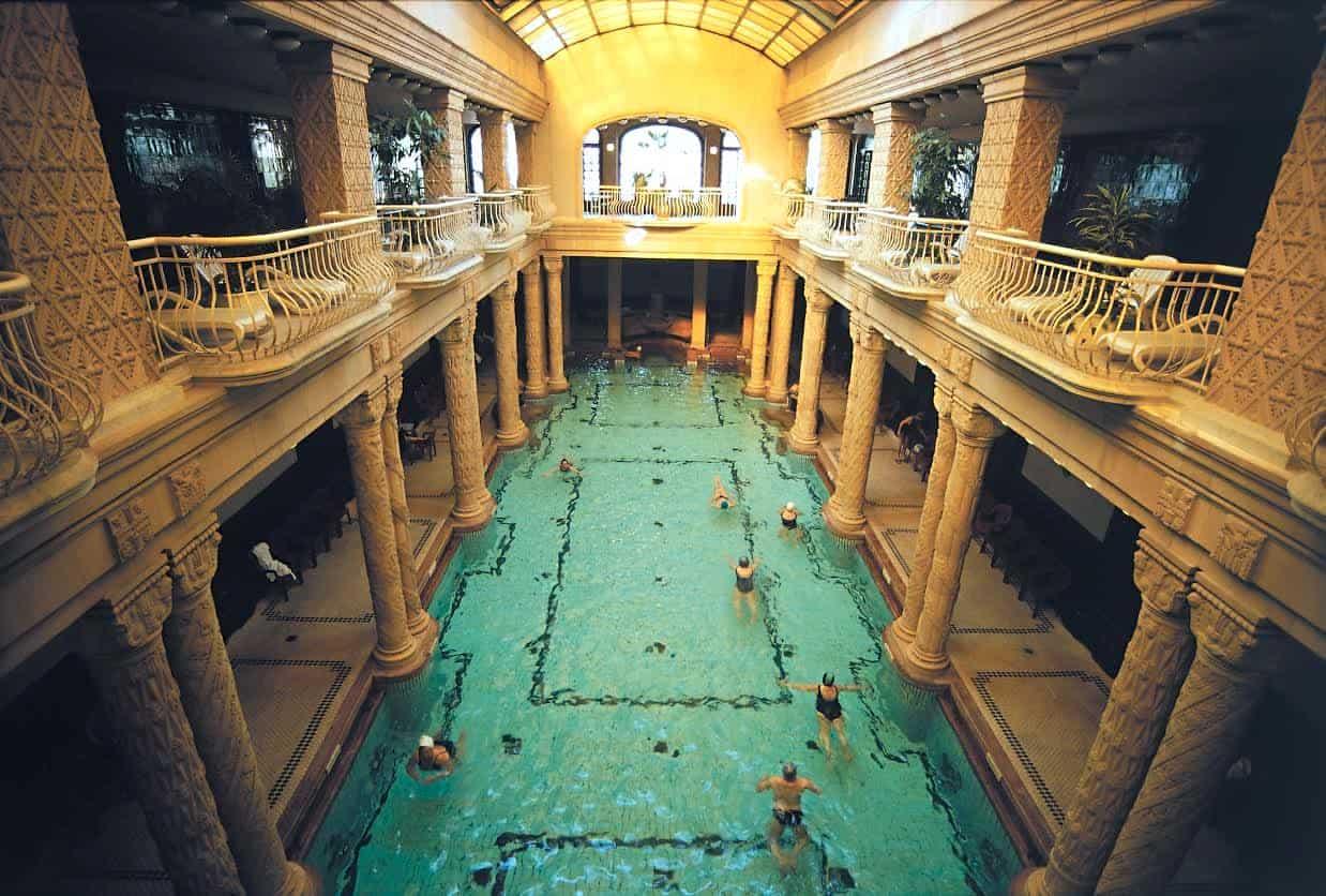 Gellert Baths in Budapest