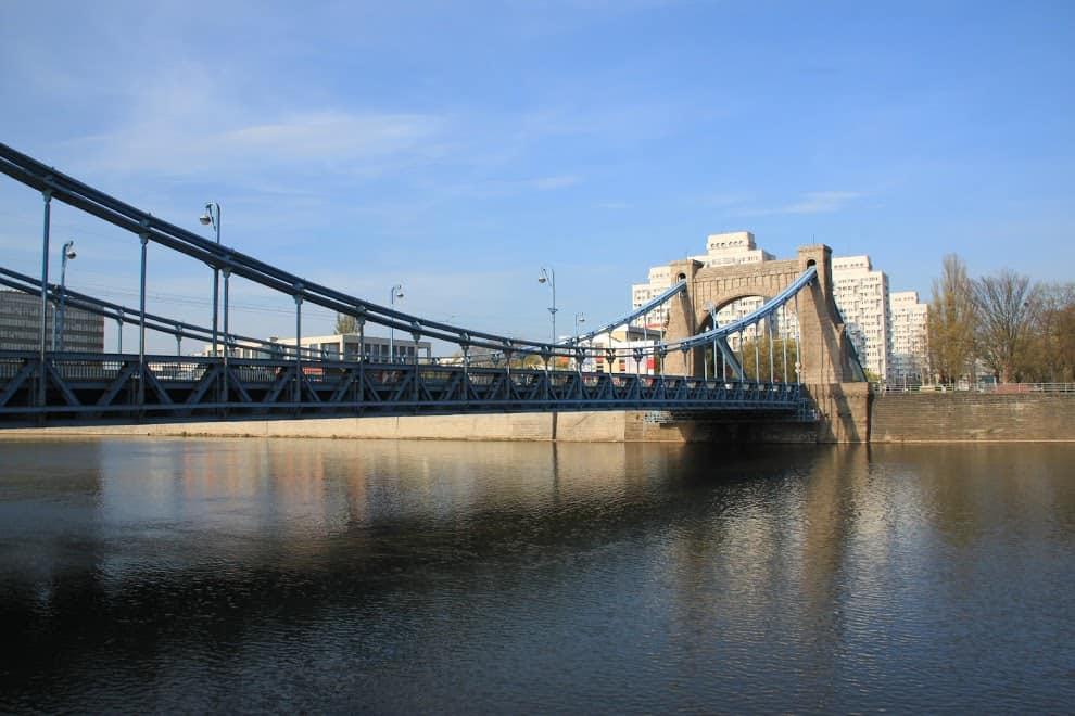 Grunwald Bridge most grunwaldzki wrocław