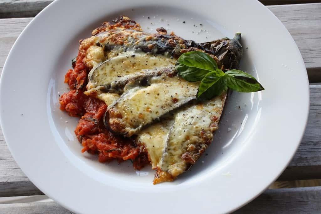 parmigiana eggplant sicily
