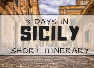 3 days in Sicily