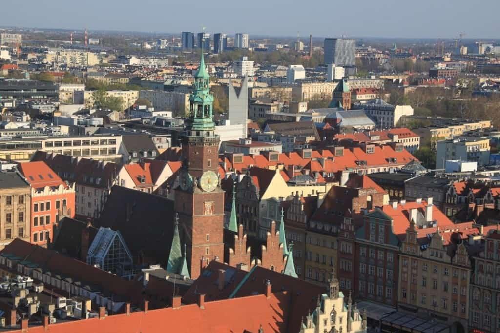 view garnizon church wroclaw