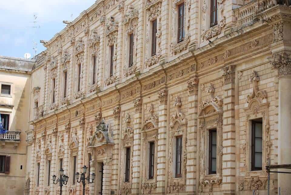 Palazzo dei Cestini in Lecce