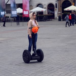 Don't feel like walking? Book Krakow Segway Tour to get to know the city.