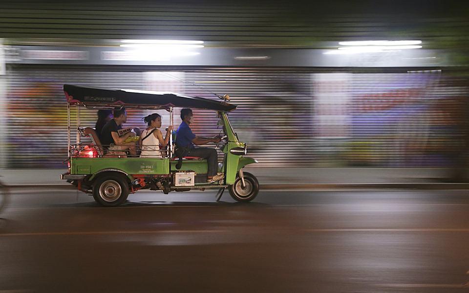 Tuktuks in Thailand